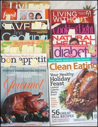 Thanksgiving cooking magazines