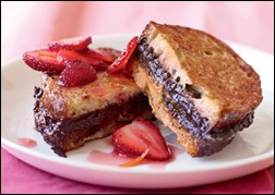 Chocolate Stuffed French Toast