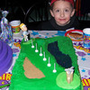 How to make a golf cake