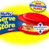Party on with Hefty's Serve 'n Store Party plates